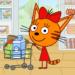 القطط الصغيرة المتجر