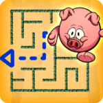 لعبة المتاهة - لغز الأطفال ولعبة تعليمية