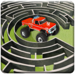 لعبة شاحنة متاهة القيادة 2020: مغامرة شاحنة ألعاب